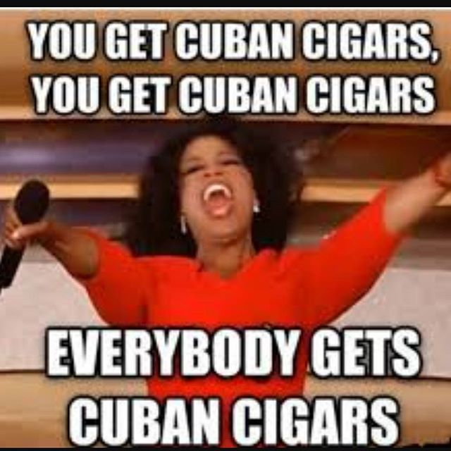 Promo Upgrade Your Package And Get Cubans With Your Service Mention Code Oprah In Your Em Environmental Science Life Science Christmas Memes Funny