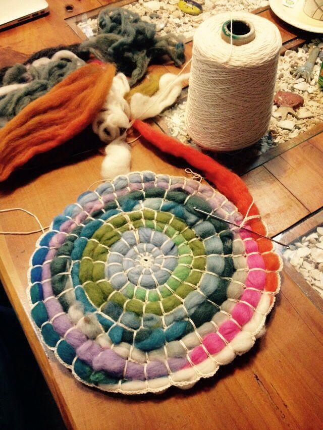 Contemporáneo Bernat Patrones De Hilo Crochet Friso - Manta de Tejer ...