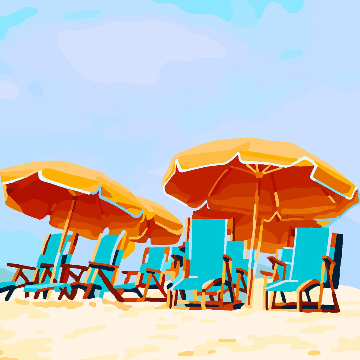 beach relax holidays