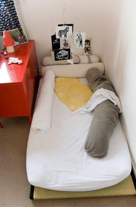 Un lit au sol pour mon petit prince   Lit au sol ...