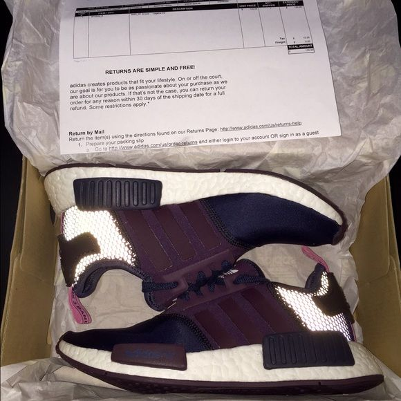 maroon adidas shoes tubular nmd boost box 568082