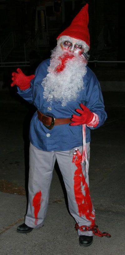 Zombie Garden Gnome #gnomecostume