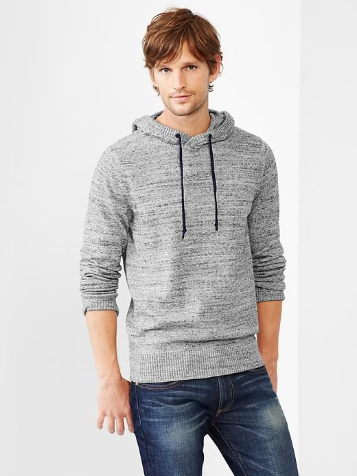 Marled hooded sweater Product Image | Family portrait outfits ...