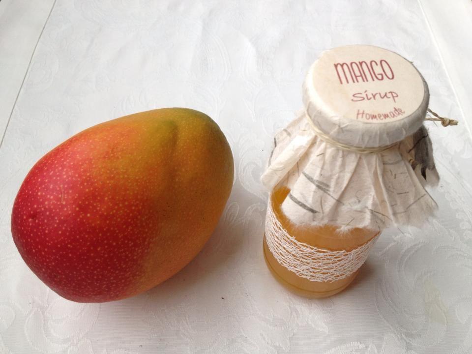 skræl en mango