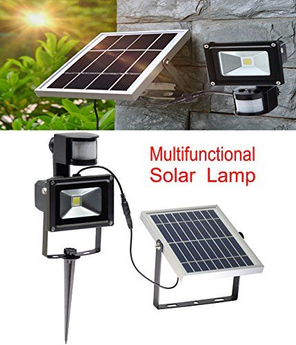 W Lite 10w Super Bright Solar Motion Sensor Flood Lights Solar Flood Lights Flood Lights Modern Outdoor Lighting