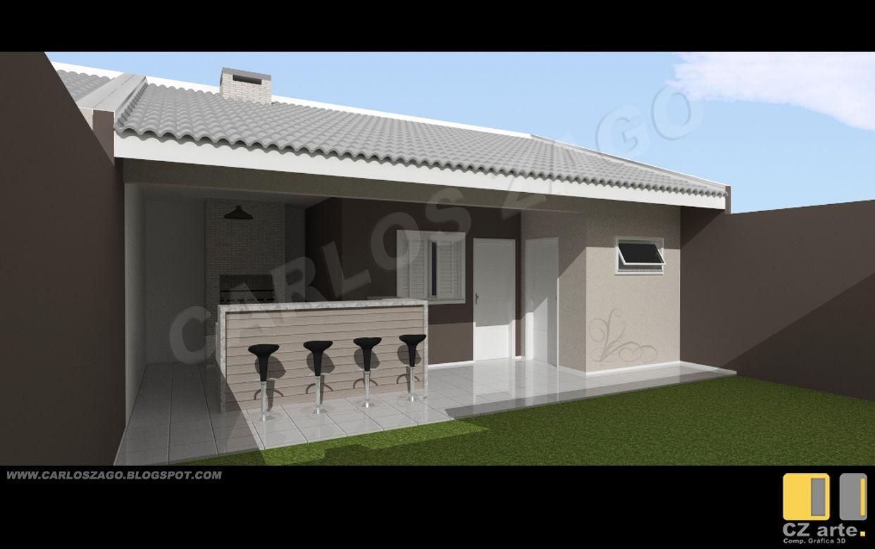 Casas 7x20 pesquisa google plantas de casas pinterest for Casa moderna 7x20