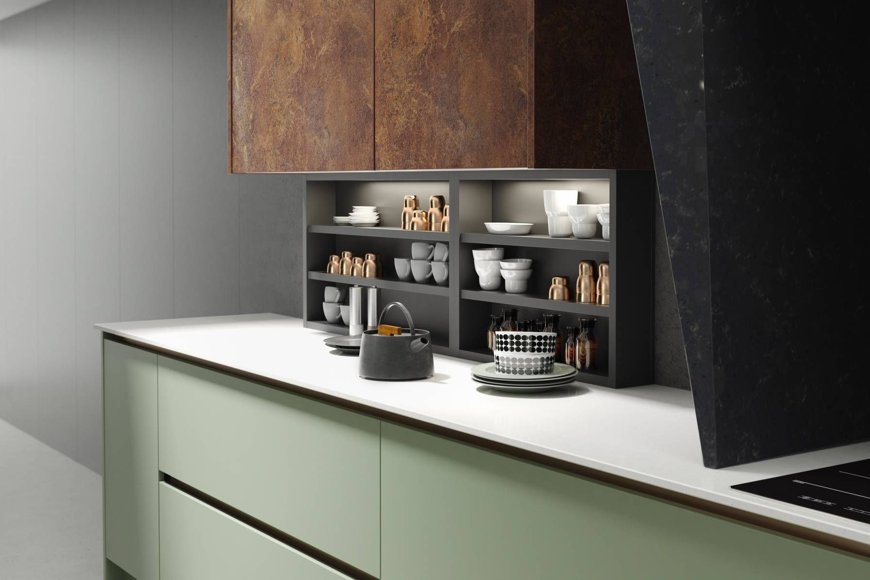 View Our Milano Elements Kitchen In Copper Slate And Roman Leaf. Explore  The Full Infinity Plus Milano Collection To Find Your Dream Design.