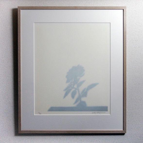 高松 次郎 Jiro TAKAMATSU バラの影 販売価格¥120,000(税別)