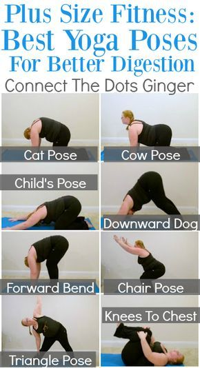 Photo of Plus Size Fitness: Best Yoga Poses To Help With Digestion