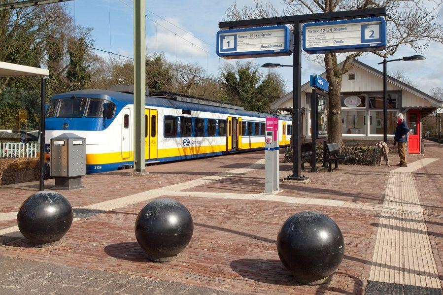 Station Den Dolder Railway Station Netherlands Station