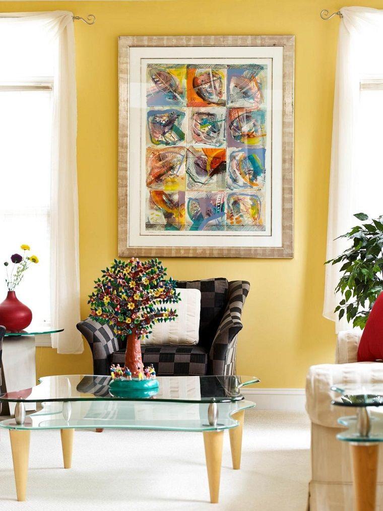 Decorar con cuadros: 25 ideas para el hogar moderno | Paredes ...