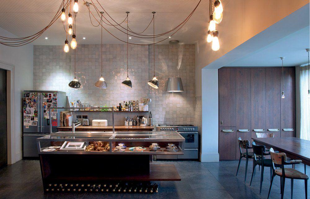 Cuisine Ouverte Des Idées Pour Son Aménagement Cuisine Ouverte - Table salle a manger scandinave occasion pour idees de deco de cuisine