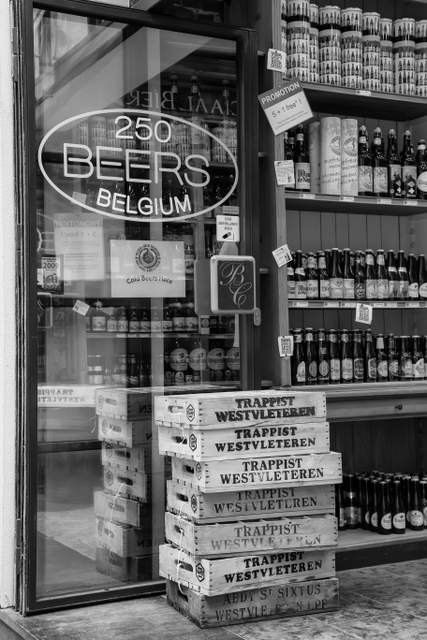 Belgian beer art urban wall art urban print fine by gcfphotography