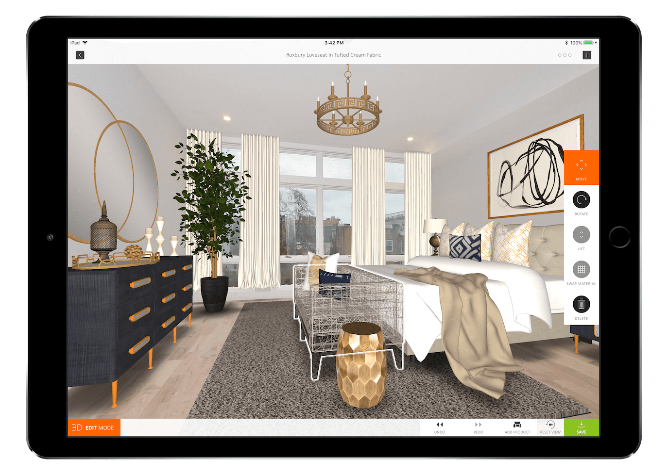 3D, Augmented and Virtual Reality Interior Design Apps