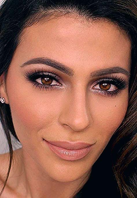 Beste Hochzeit Make-up Gast Brown Eyes - Hochzeit ideen