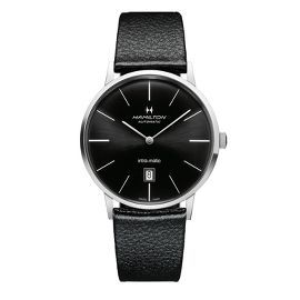 Hamilton® Intra-Matic Men's Watch in Stainless Steel $945