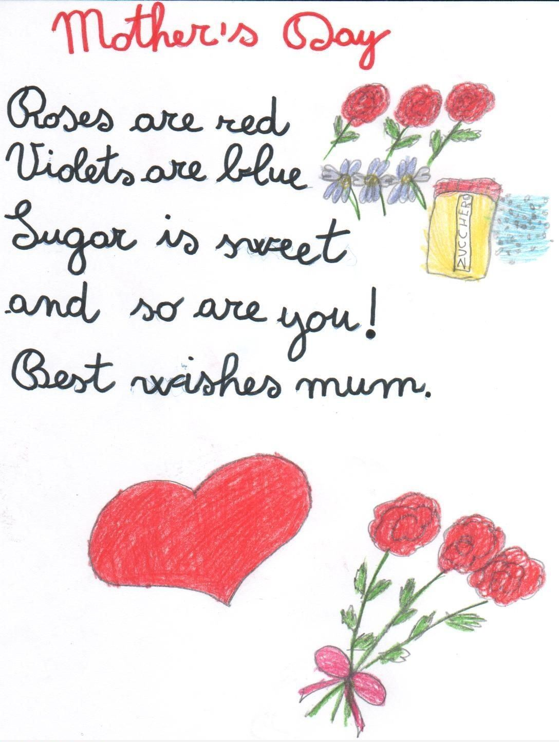 Funny Mother S Day Message Happy Mothers Day Poem Sweet Mothers Day Messages Mother Day Wishes