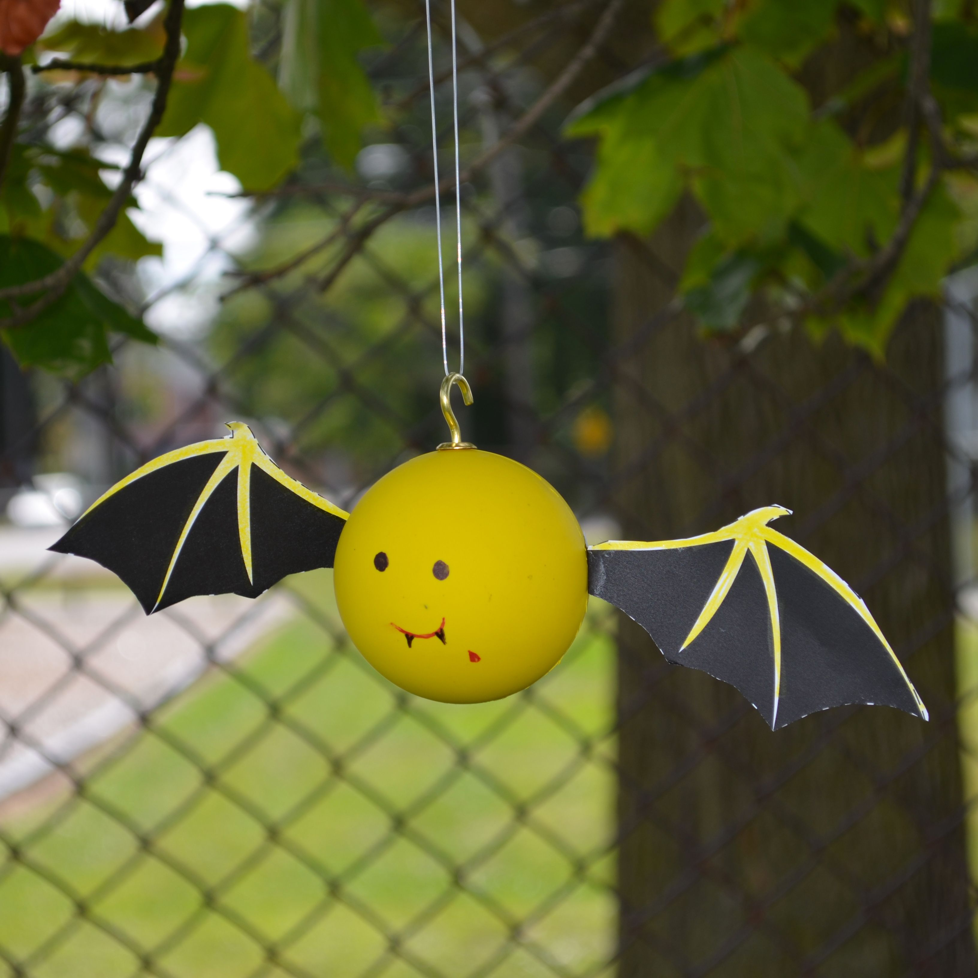 diy learn to create your own lacrosse ball bat halloween decorations on the blog