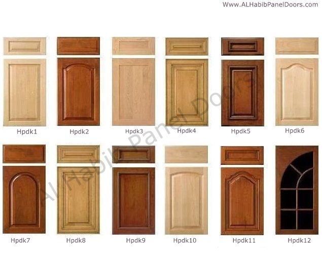 Kitchen Cabinets Doors Design Hpd406 - Kitchen Cabinets - Al Habib ...
