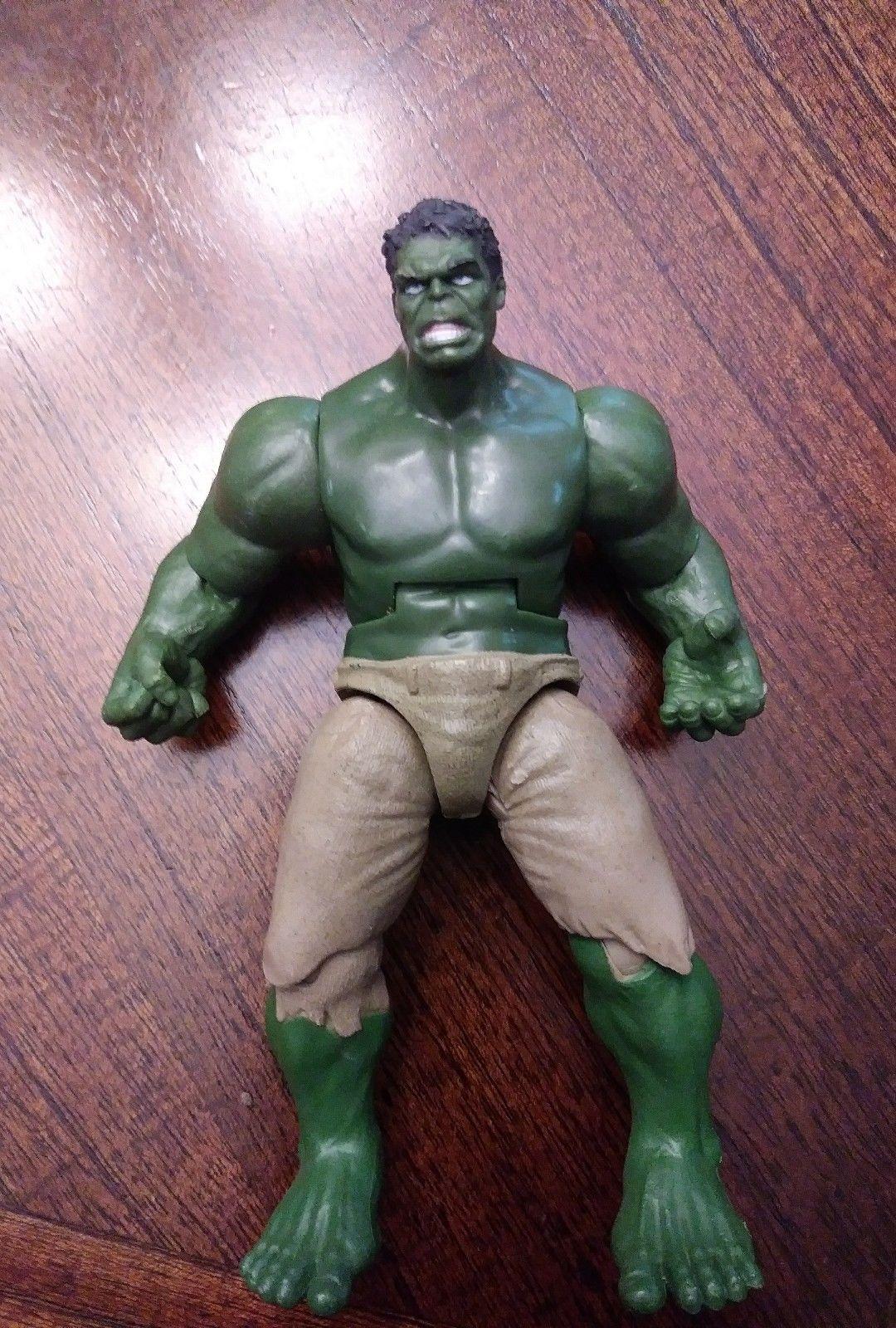 The Incredible Hulk 5 Hasbro 2011 Avengers Movie Action Figure Marvel Light