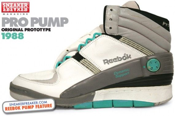 Reebok Pump Original Design Process Retrospective