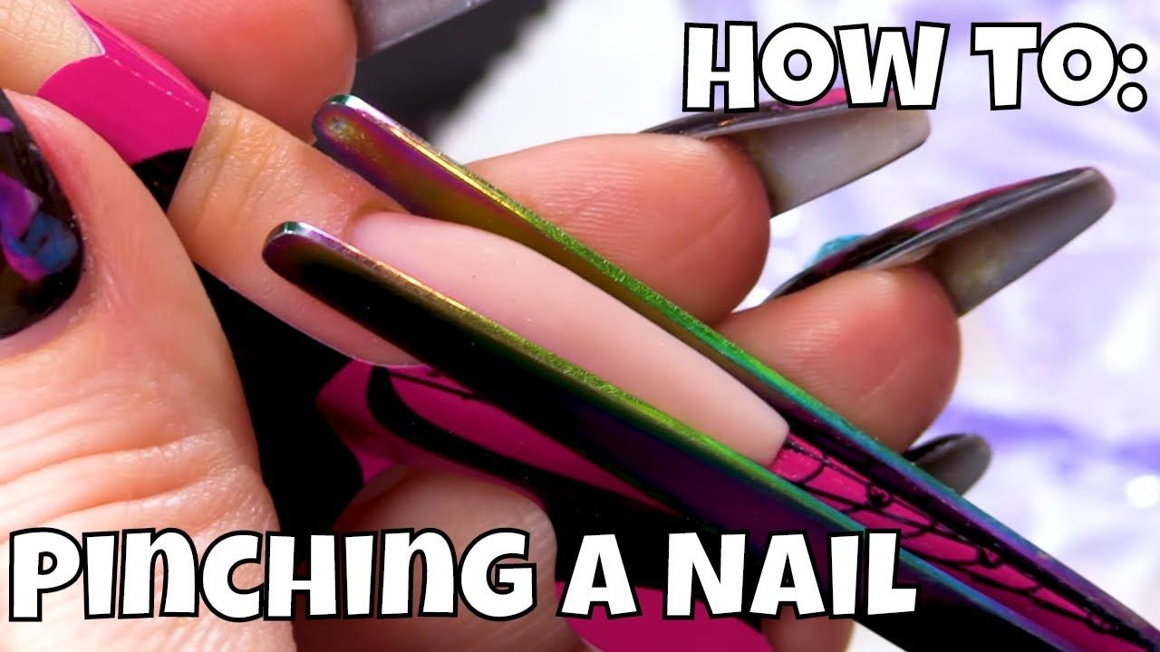 How to pinching and why it should be done diy acrylic