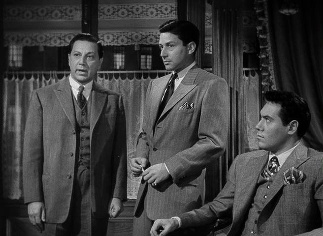 House Of Strangers Odio Entre Hermanos 1949 Richard Conte Edward G Robinson Black And White Film