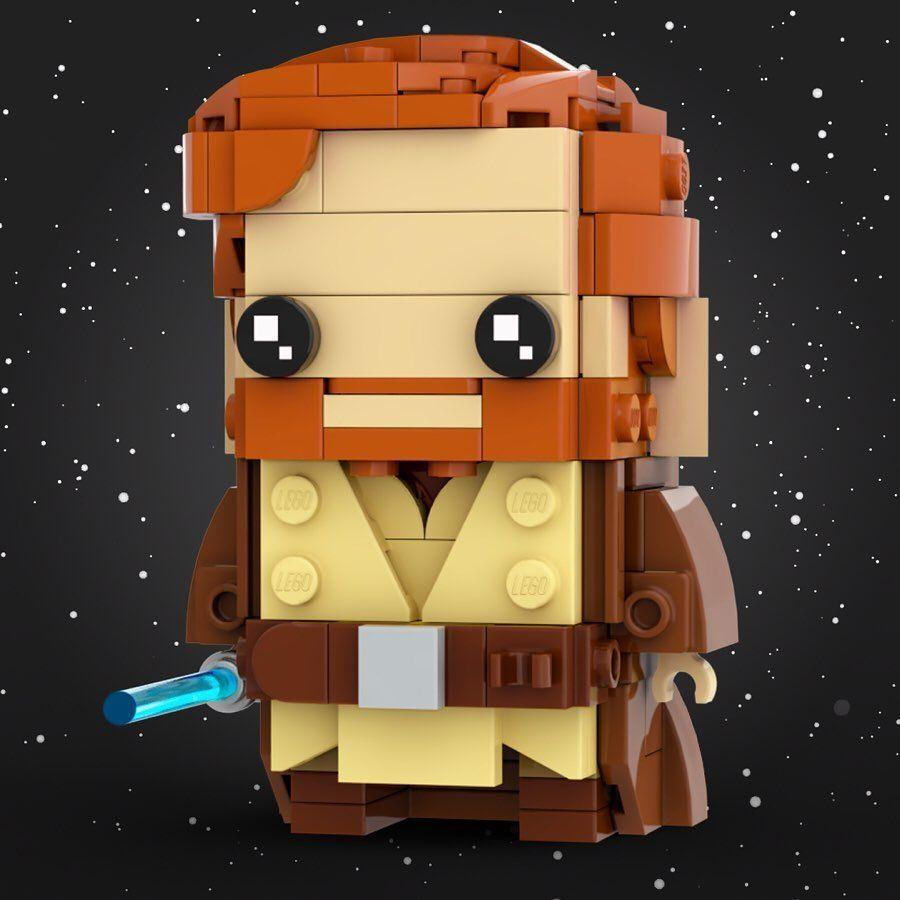 Stormythos On Instagram Brickheadz No 131 Obi Wan Kenobi Star Wars Episode Iii Revenge Of The Sith Hello There After Obi Wan Kenobi Obi Wan Kenobi