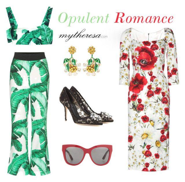 """Dolce & Gabbana"" by mytheresa ❤ liked on Polyvore featuring Dolce&Gabbana, dolceandgabbana, summerstyle, mytheresa and buytheresa"
