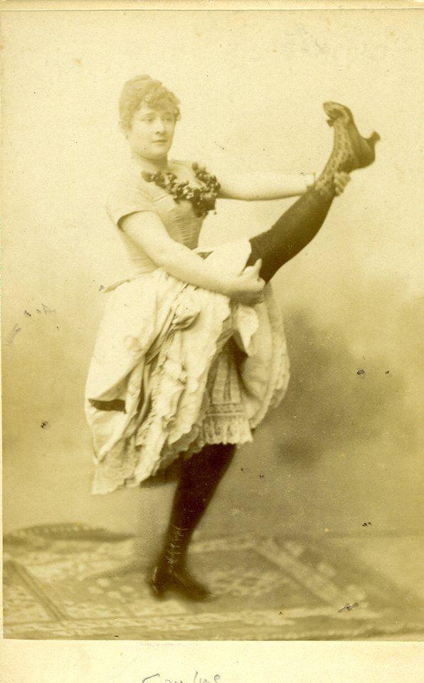 Louise Weber Dite La Goulue Celebre Danseuse De Cancan Au
