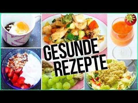 GESUNDE & EINFACHE REZEPTE - Frühstück bis Abendbrot - Tassenkuchen, Frühstücksburger... - YouTube