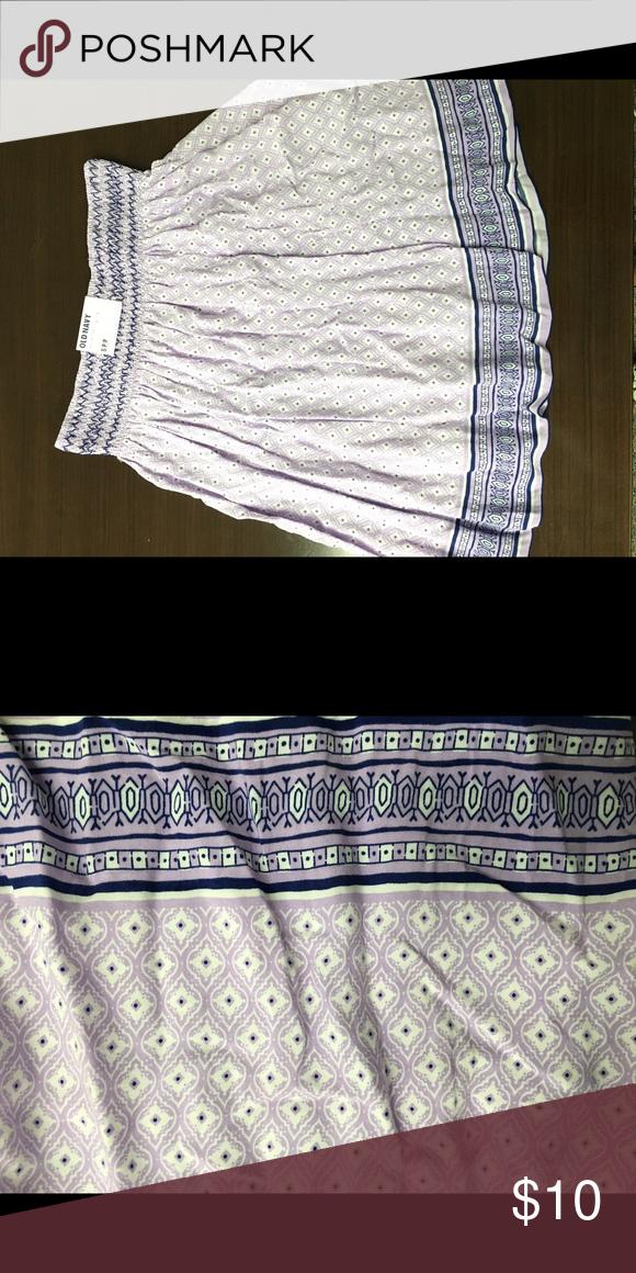 Old Navy printed skirt NWT Size small circle skirt! Perfect for summer! Old Navy Skirts Circle & Skater