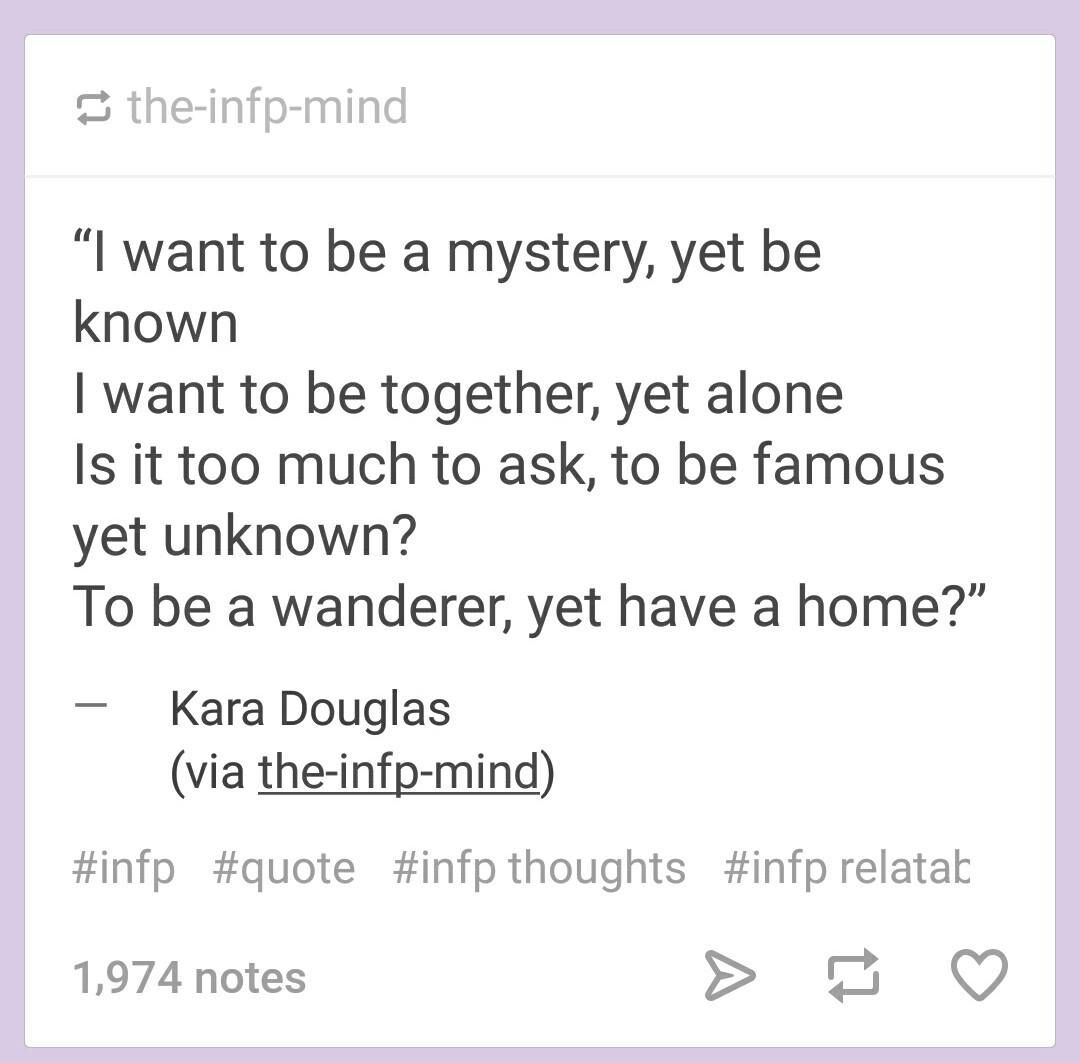 Infp Quotes, Infp