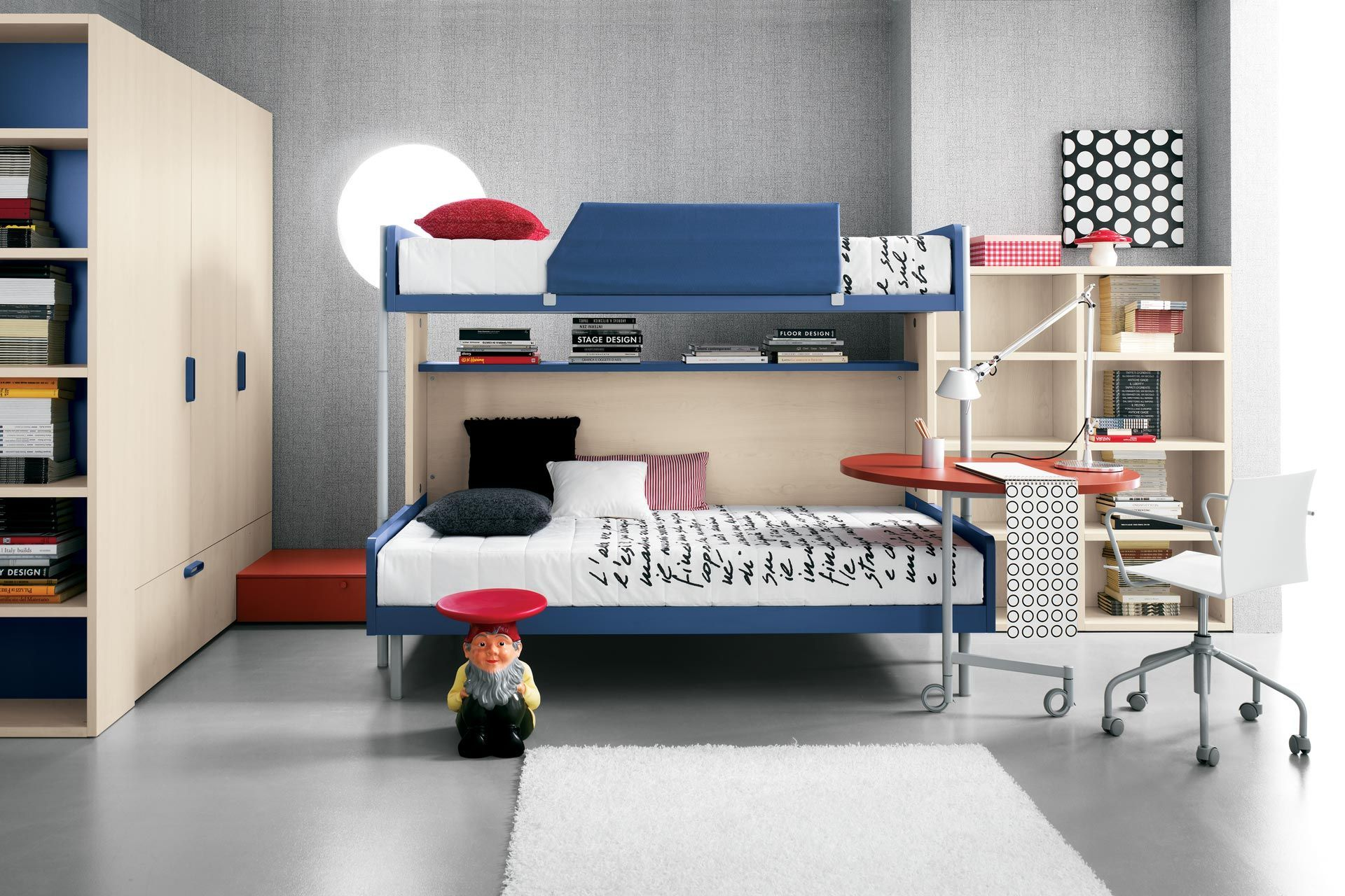 Cool loft bed ideas  Teen Room Designs Cool Bunk Beds Design for Teens Room in Awesome