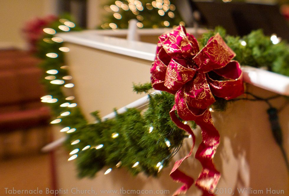 Christmas decoration in church google search