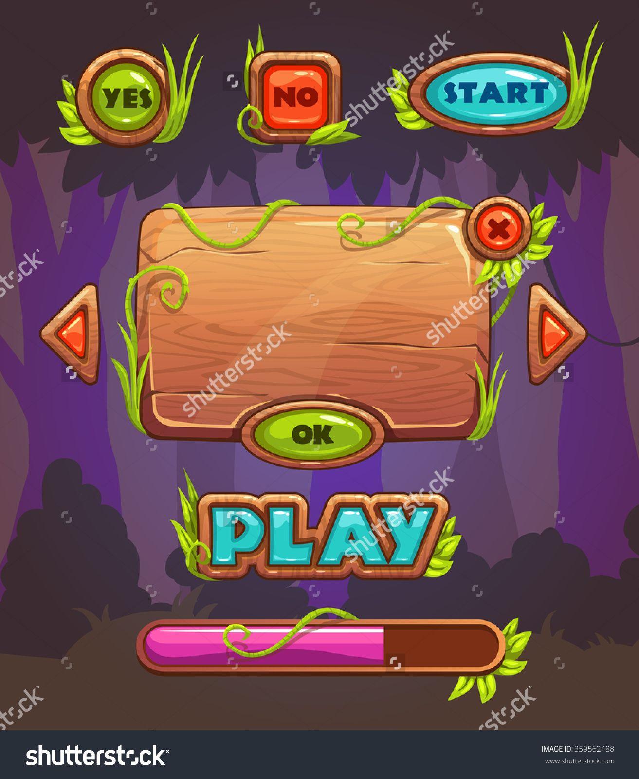 Pin on Mobile Game UI