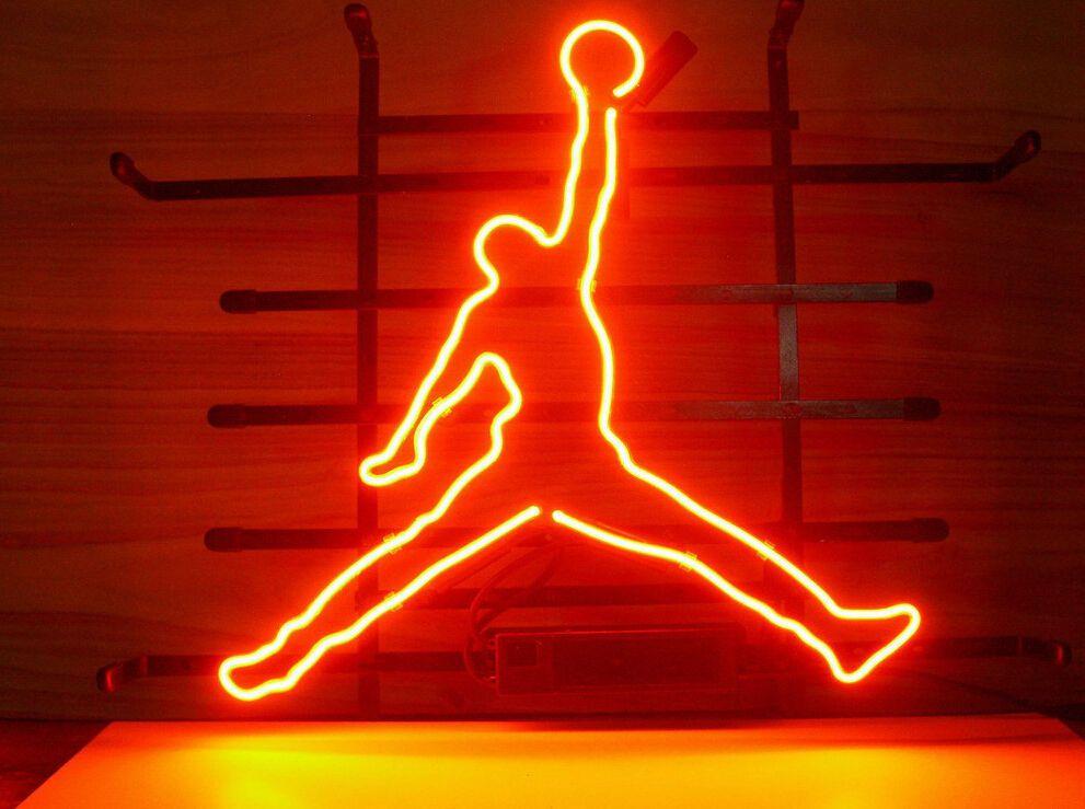 17*14 Basketball Neon Sign Display Garage Beer Bar Pub