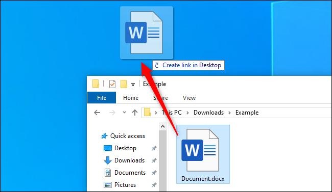 How To Create Desktop Shortcuts On Windows 10 The Easy Way Windows 10 Windows Desktop Icons