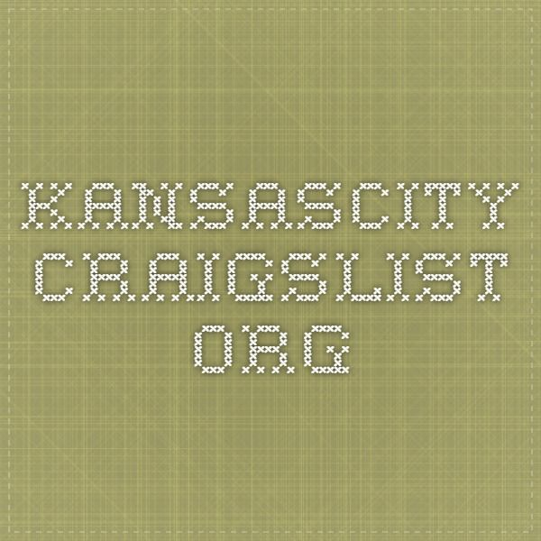 Kansas City, Job, Craigslist