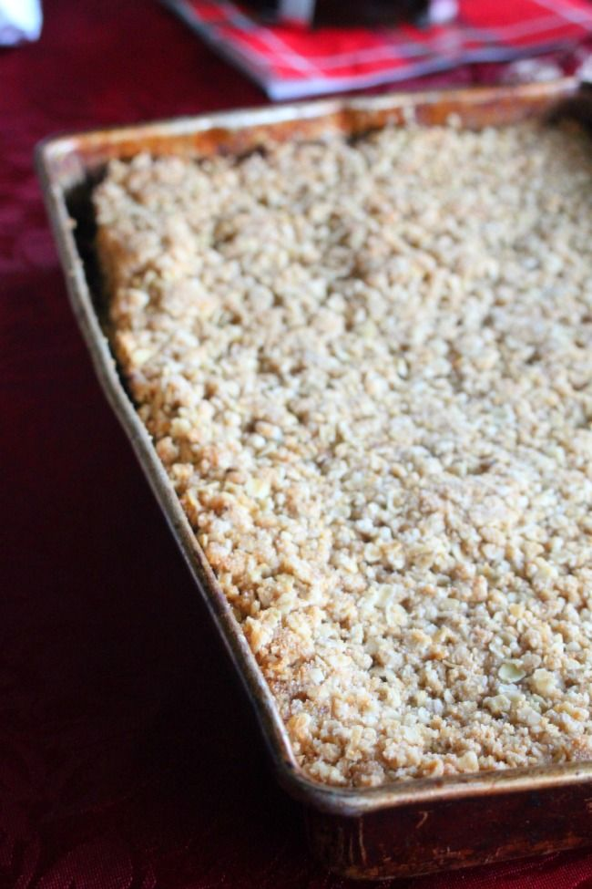 New Traditions and Old: My Grandmother's Date Squares
