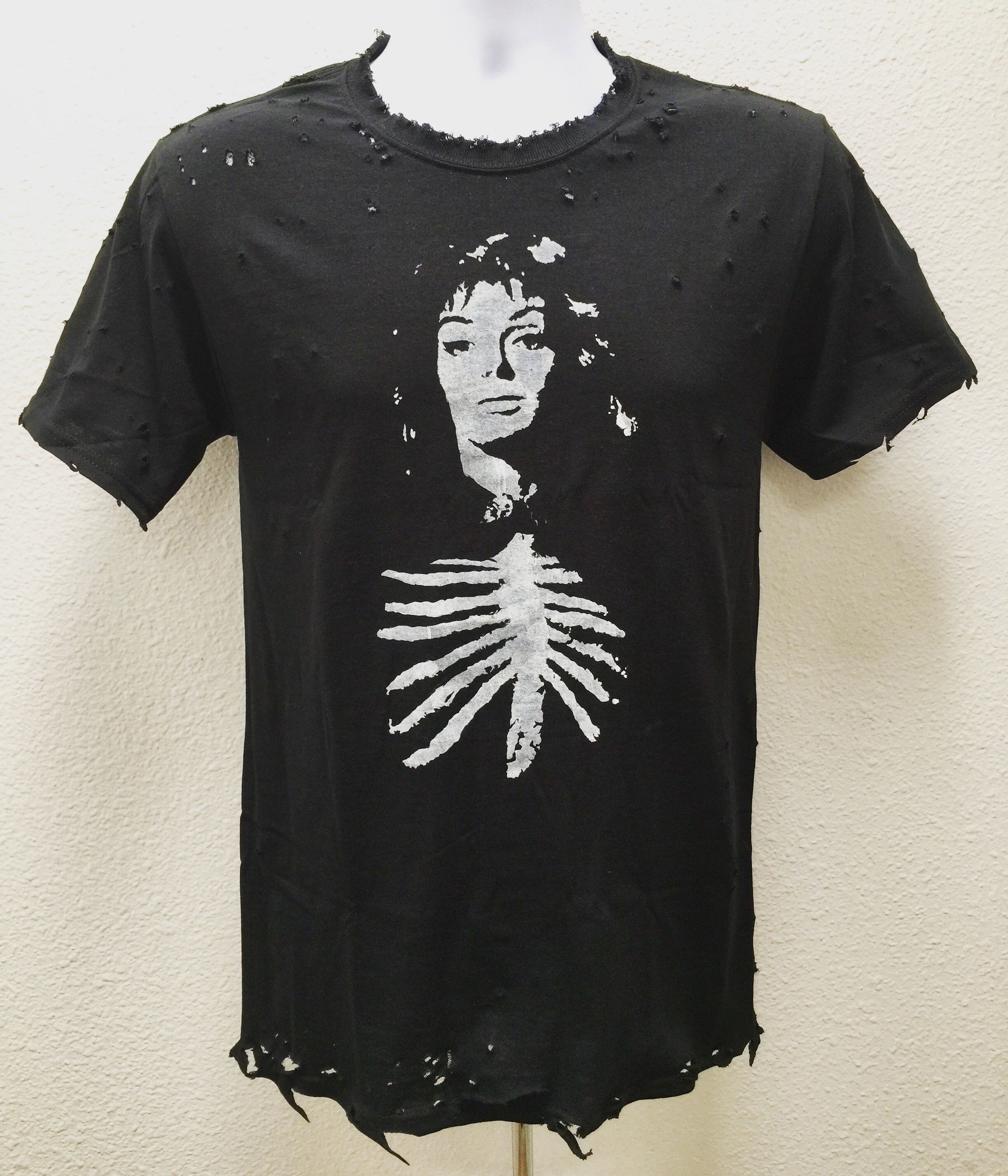 Black sunday tees from chadcherryclothing distressed
