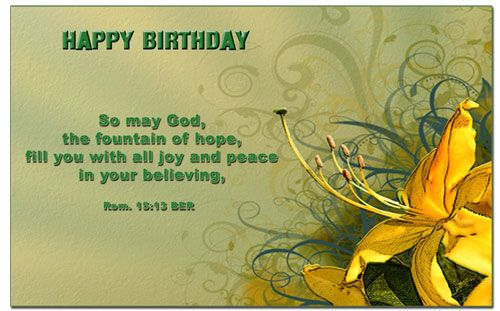 Happy Birthday Biblical Quotes QuotesGram