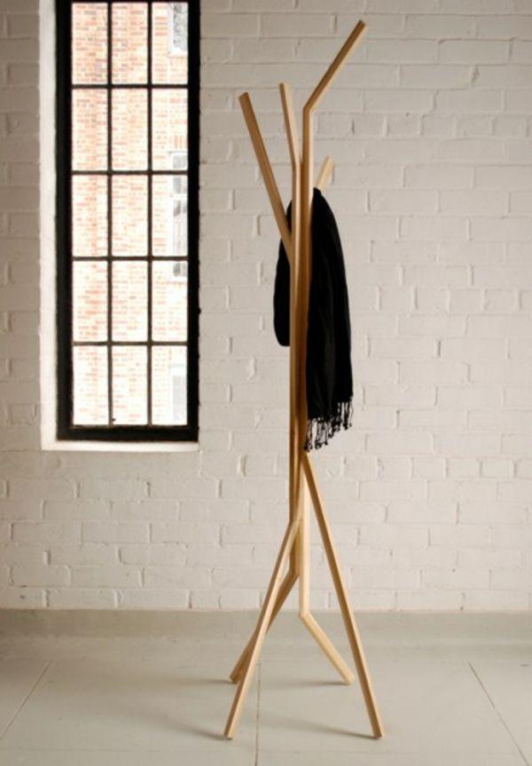 Kleiderständer Holz kleiderständer aus holz mit originellem design ideen rund ums haus