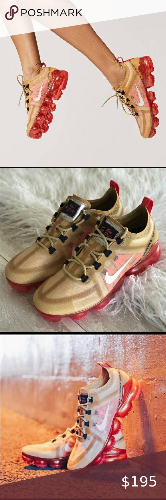 NWT Nike Air Vapormax 2019 Gold in 2020 Nike air
