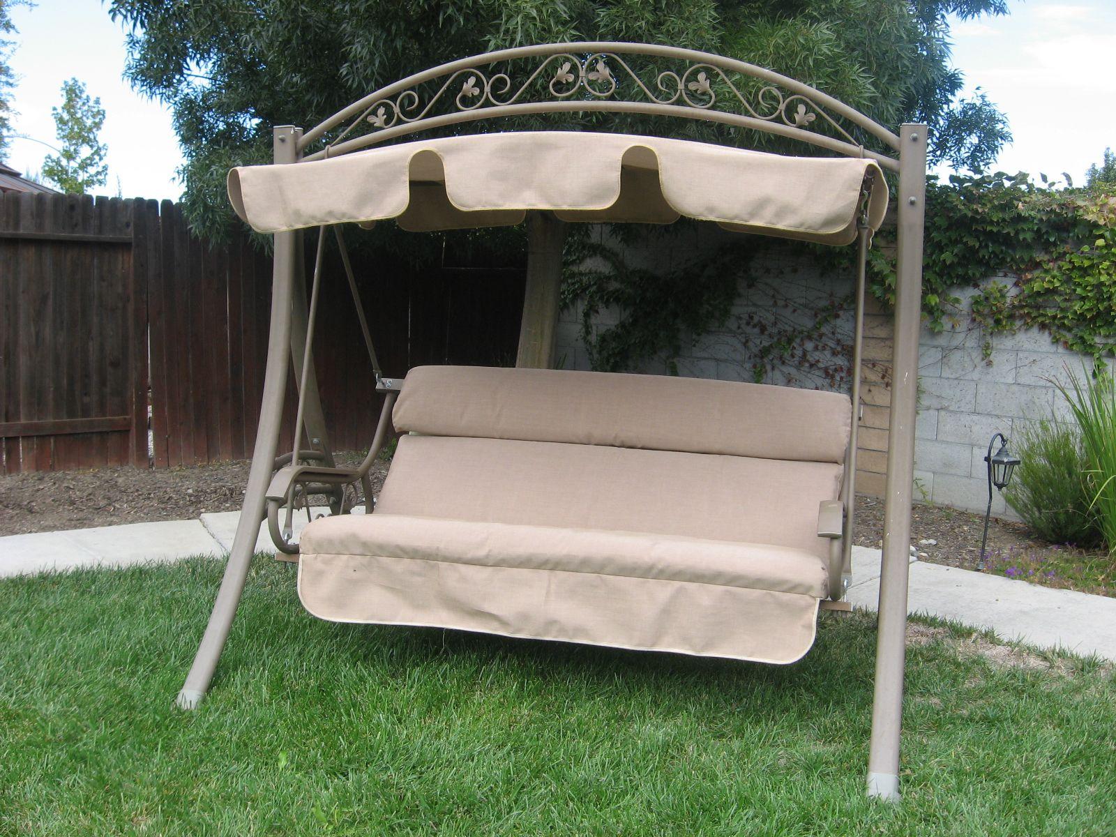 patio swing canopy outdoor patio swing