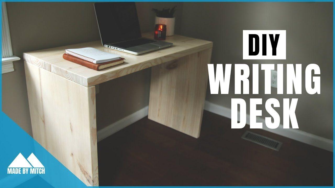 Diy Modern Writing Desk Writing Desk Diy Writing Desk Modern Writing Desk