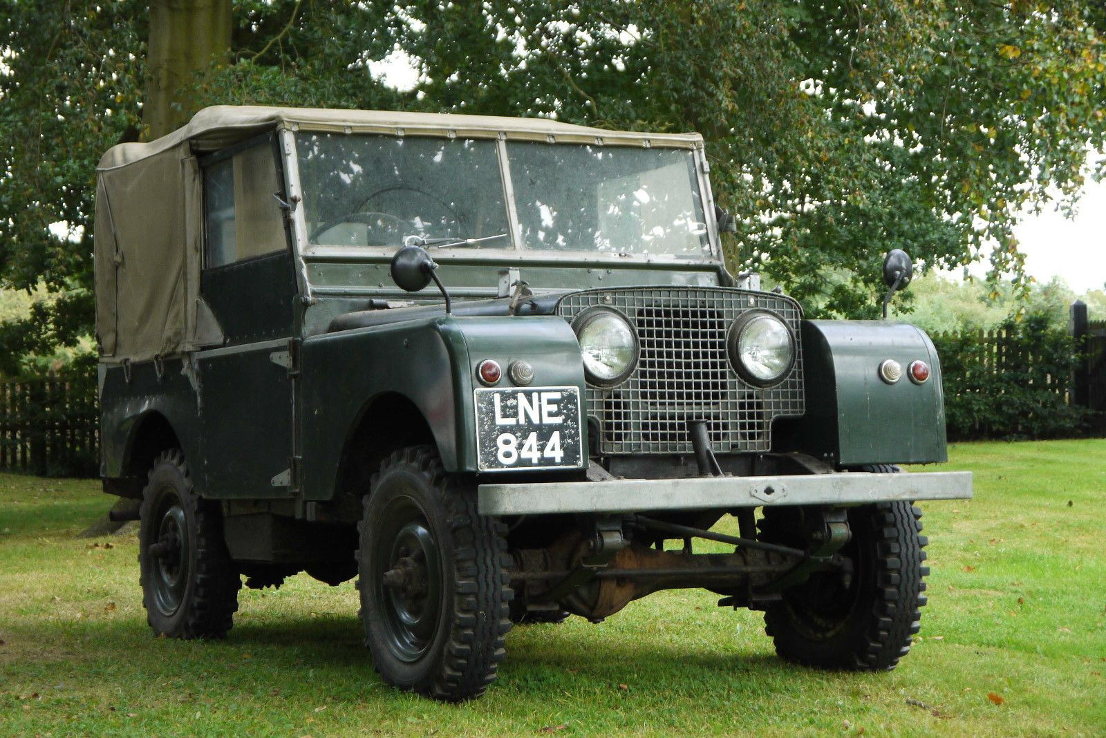 1950 land rover series 1 80 eighty inch barn find restoration project