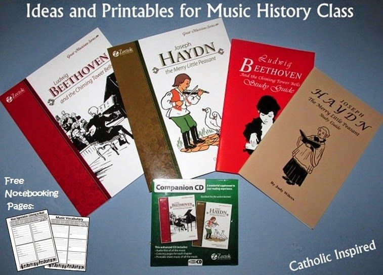 Music Class without the Big Cost {Free Notebooking Pages