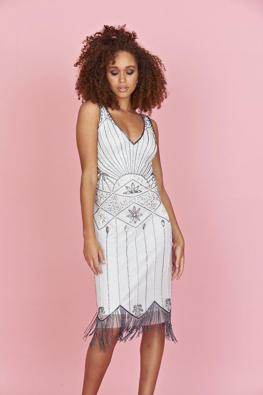Moderno Aleta Inspirado Vestidos De Dama Foto - Ideas de Vestido ...
