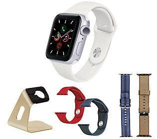 Apple Watch Series 5 GPS 44mm Deluxe Bundle — in